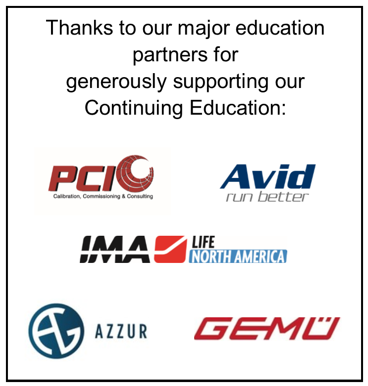 2019 Education Sponsors